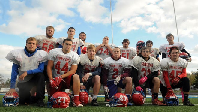 The Zane Trace football team senior class is arguably one of the best the school has seen since the program began, leading their team to beat Logan Elm, win 10 games in a season, win a postseason game and host a Week 11 contest.