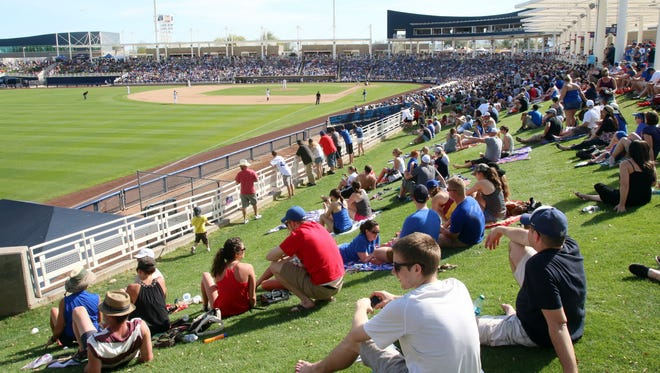 Maryvale Baseball Park in Phoenix will be home to the Brewers in spring training.
