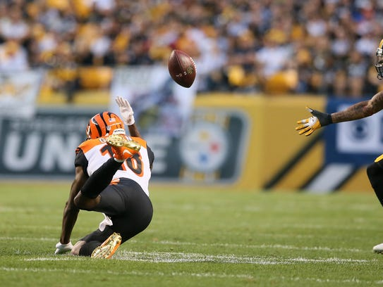 The Bengals haven't been able to get A.J. Green the