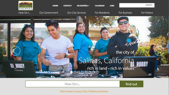 City of Salinas launches new website on Monday