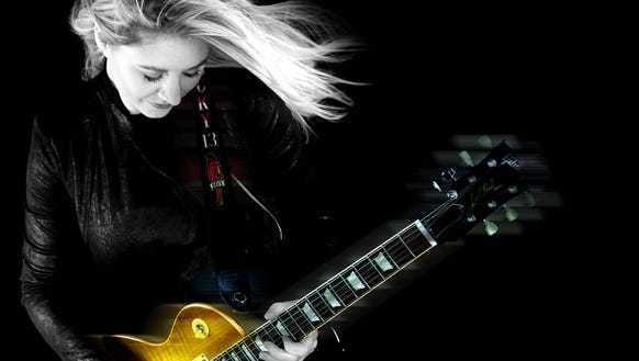 UK blues artist Joanne Shaw Taylor is performing at