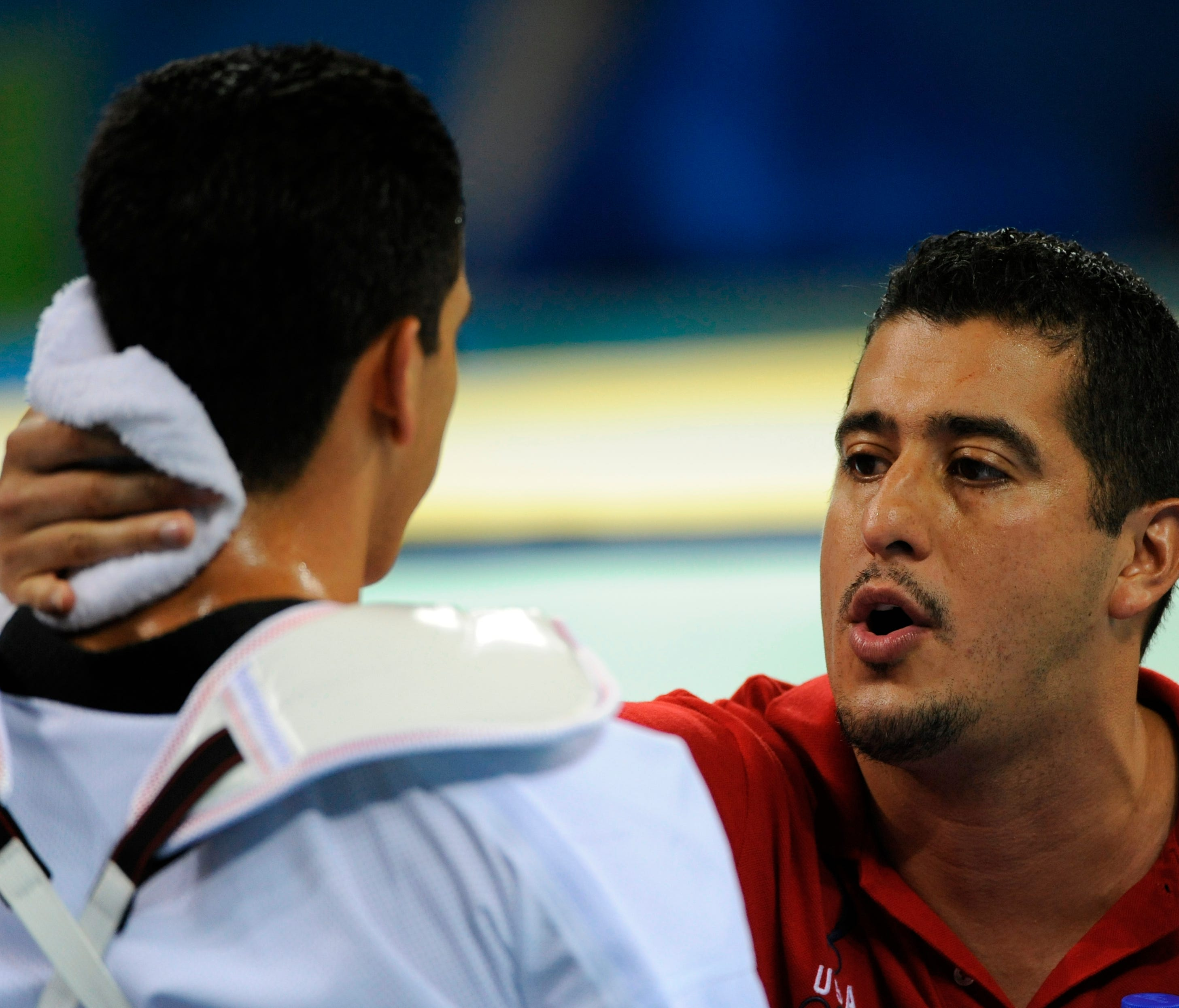 Jean Lopez, shown during the 2008 Olympics, has been banned by the U.S. Center for SafeSport for sexual misconduct.