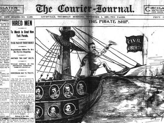 New archives allow you to view old pages of The Courier-Journal