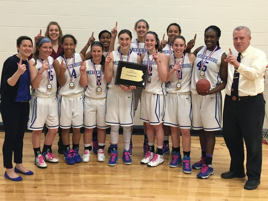 The Mercersburg Academy girls basketball team  claimed