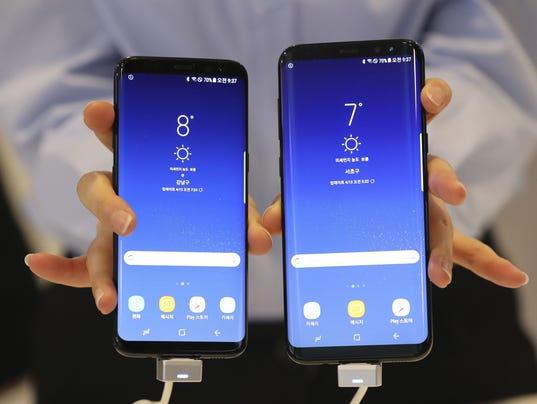 AP SOUTH KOREA SAMSUNG SMARTPHONE F I KOR