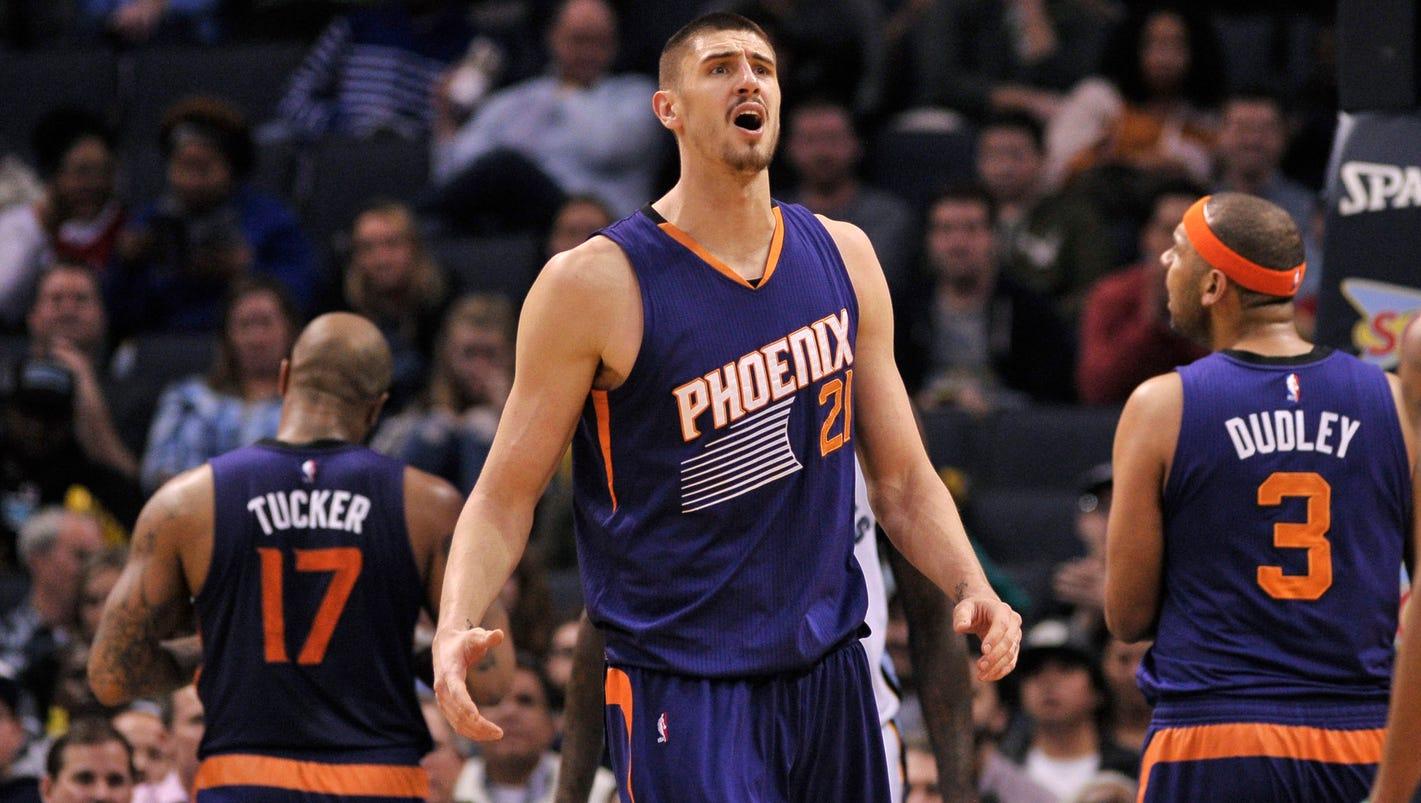 ... Phoenix Suns Alex Len suspended 5ceab5041