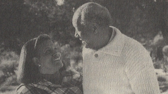 Myrlie Evers and her husband, Walter Williams