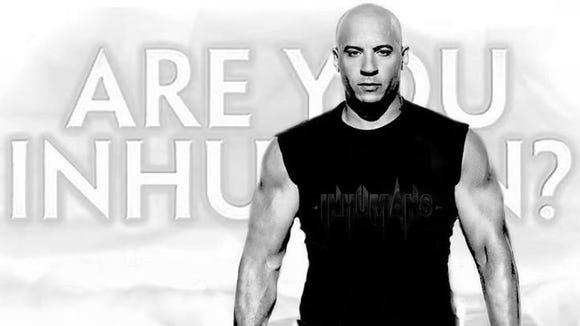 Vin Diesel Inhuman