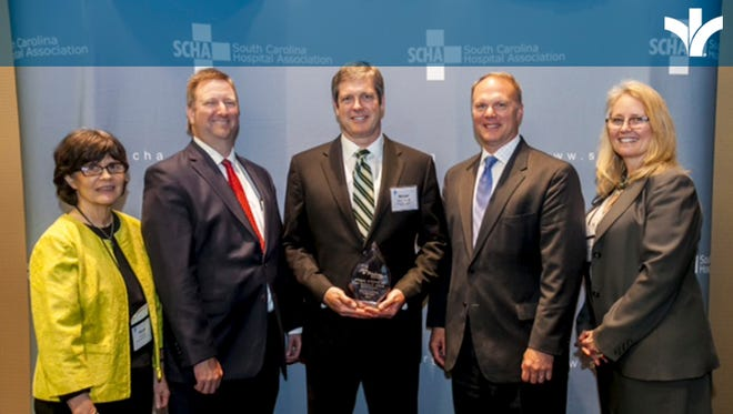 Dr. Michael O'Boyle, a fellowship-trained orthopedic trauma surgeon with the Bon Secours Medical Group, received a prestigious statewide award celebrating individuals who have made healthcare safer for South Carolina residents.