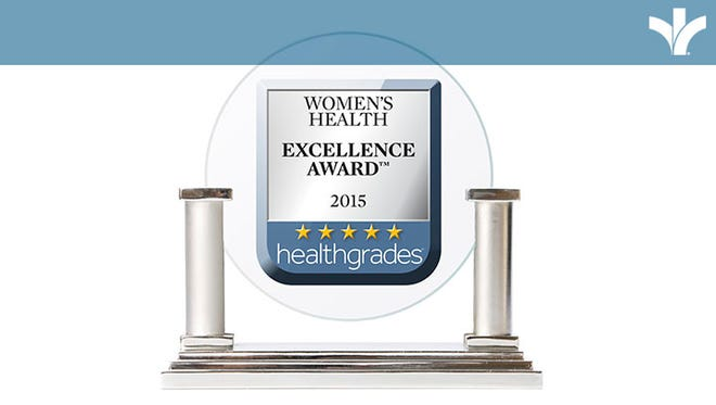 Bon Secours St Francis has received many awards from HealthGrades this year, and one of these is the Women's Health Excellence Award.