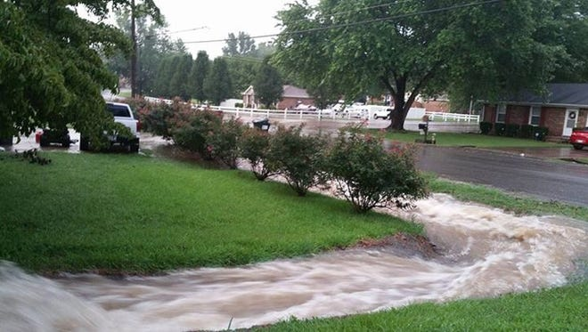 Excessive rains in the area have created a problem for the residents.
