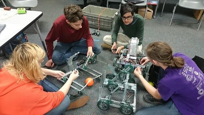 Godby High School was awarded a grant to develop a robotics club on campus last year.