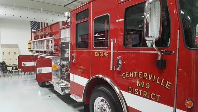Centerville Fire Department engine