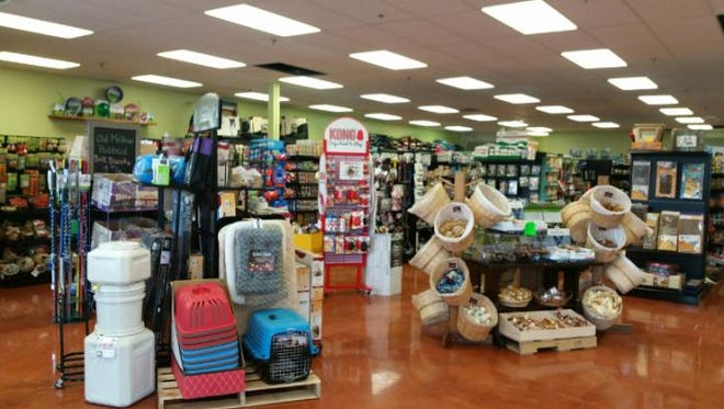 The new, larger Hooves & Paws location allowed the owners to add new products they didn't previously carry.