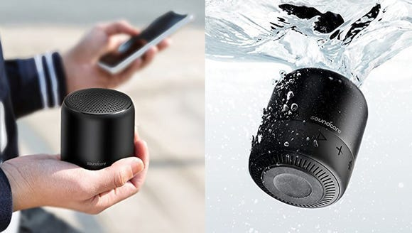 Sing in the shower with a waterproof speaker.