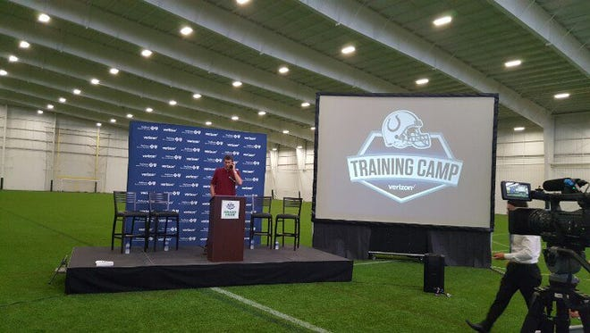 Colts announce details about moving training camp to Grand Park