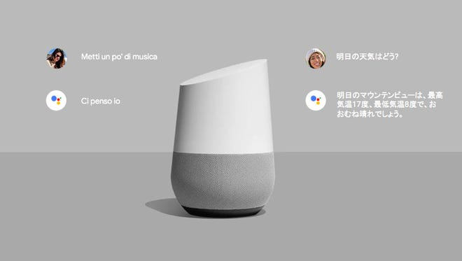 The Google Home speaker is adding a bilingual Google Assistant feature.
