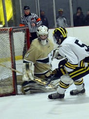 Howell goaltender Nate George was a first-team All-State
