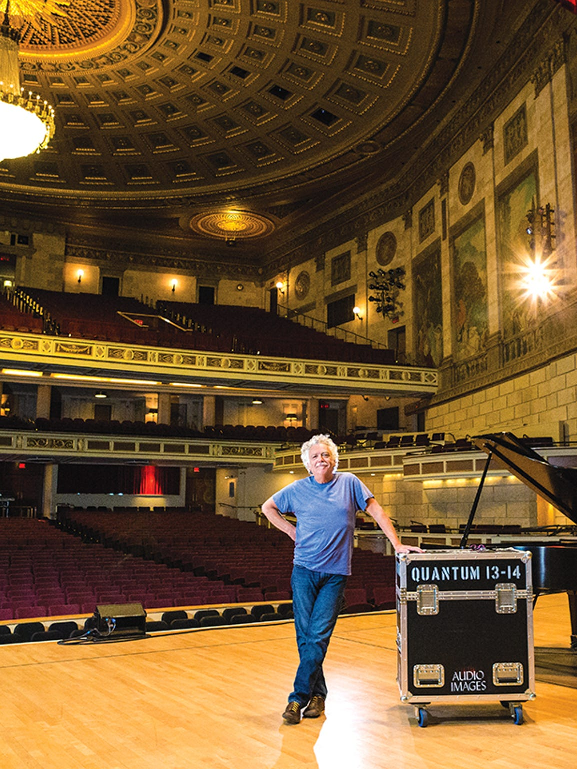 Ron Stackman is director of stage operations at the