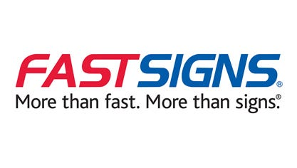 FASTSIGNS logo.