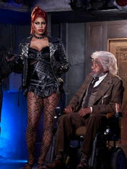 Laverne Cox and Ben Vereen  star in Fox's 'Rocky Horror Picture Show' remake.