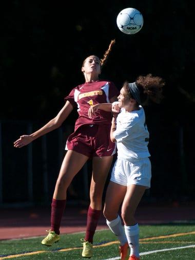Varsity Girls Soccer:  Haddonfield vs. Haddon Heights
