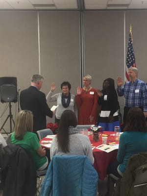 Novi Youth Assistance officers were sworn in at the group's annual meeting.