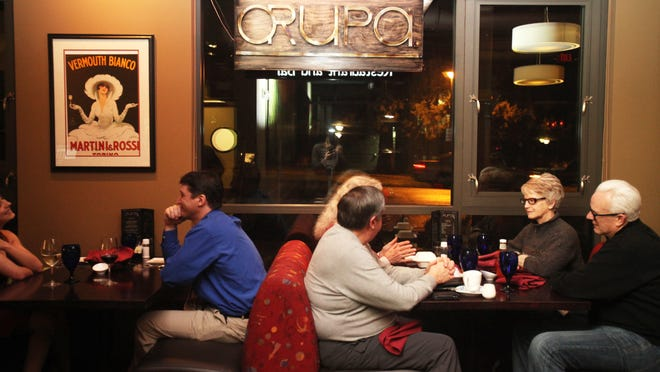 Dine in the Mid Valley has already reaised $15,000 for local nonprofits in its first few months selling cards that offer discounts at local restaurants, including Orupa where diners can get a 15 percent discount