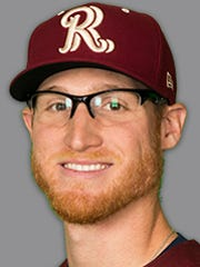 Brady Feigl pitches for the Frisco RoughRiders, a double-A
