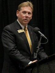 Wayne Landrith, vice president for development at Anderson University, says the new center will help with fundraising.