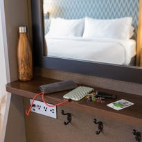 Hotels add plugs, ports for device-laden guests