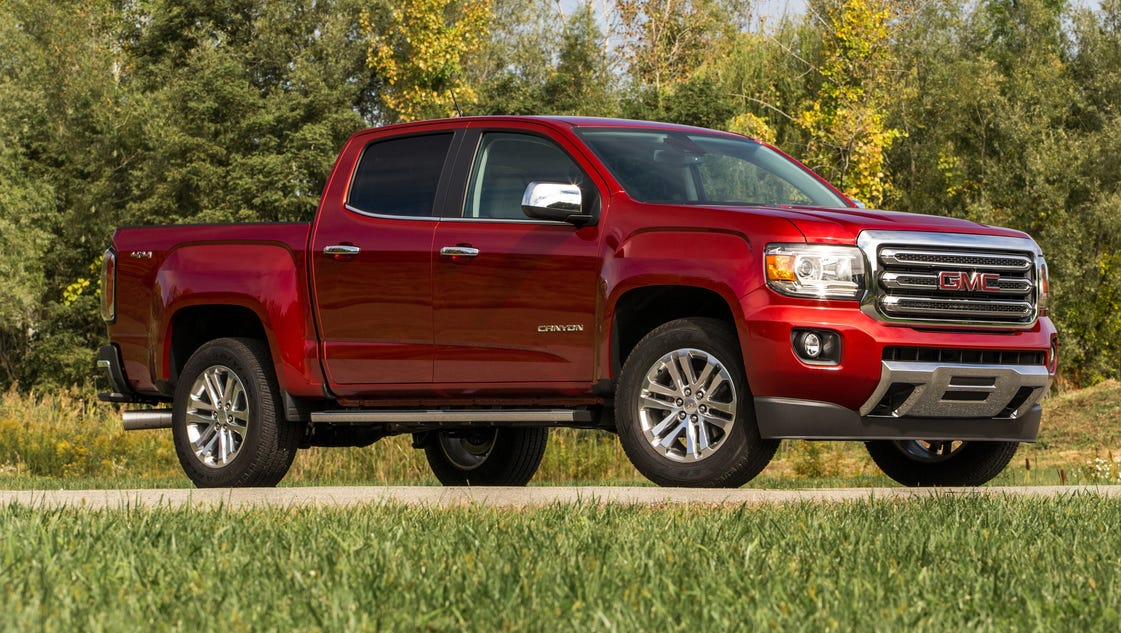 review diesel suits 2016 gmc canyon pickup. Black Bedroom Furniture Sets. Home Design Ideas