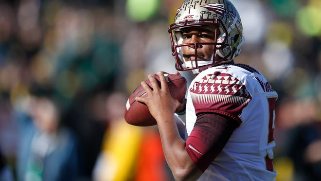 Florida State quarterback Jameis Winston is projected to be selected with the No. 1 pick in the 2015 NFL draft by ESPN.