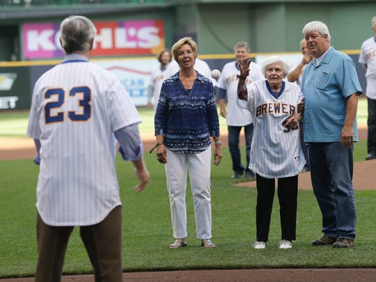 Audrey Kuenn, wife of 1982 Milwaukee Brewers manager