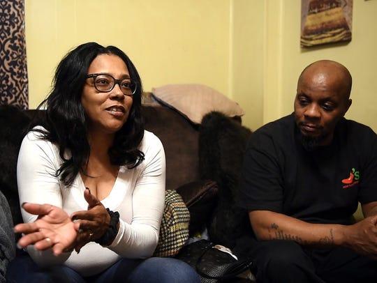 Saquon's parents Tonya Johnson and Alibay Barkley reflect