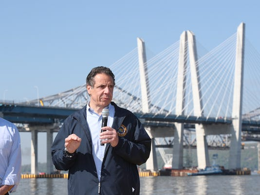 Cuomo on Cuomo Bridge