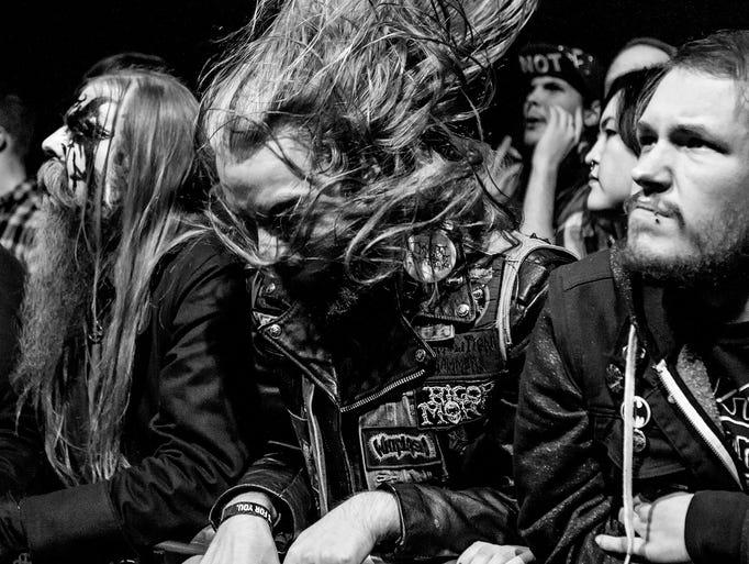 Exodus perform at The Fillmore in Philadelphia on Nov.