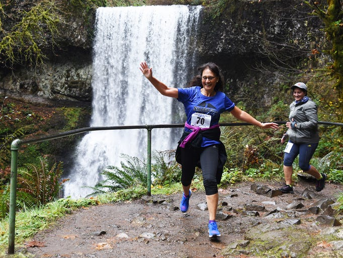 More than 600 runners came to Silver Falls State Park