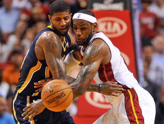 2014 NBA Eastern Conference finals preview: Indiana Pacers vs. Miami Heat