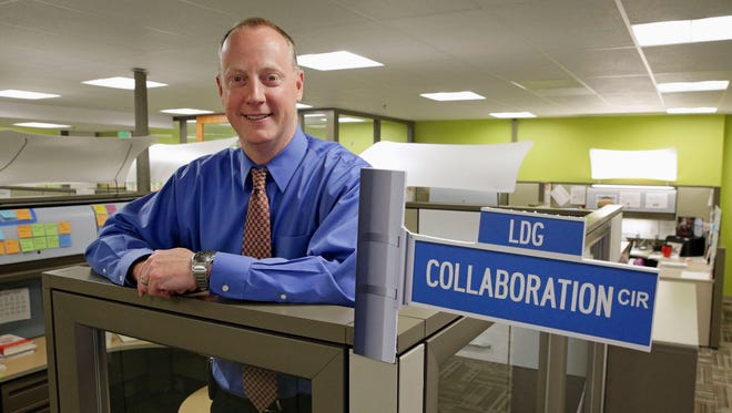 In this photo taken April 12, 2016, Patrick Conway, director of the Center for Medicare & Medicaid Innovation, poses for a photograph in the center's offices in Baltimore County, Md. Conway is also CMS' chief medical officer.