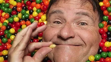 """David Klein, who calls himself """"a real-life Candyman"""" and the founder of Jelly Belly jelly beans."""
