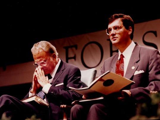 Rev. Billy Graham with Albert Mohler Jr.