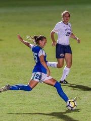 Through just 11 games, FGCU sophomore midfielder Marjorie
