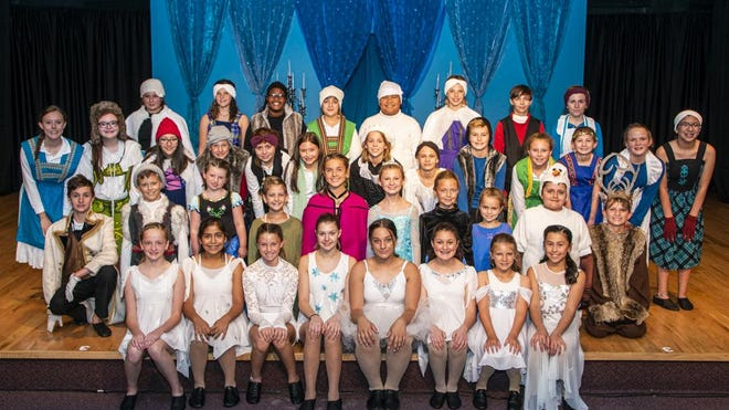 The cast of the 2019 production of Frozen Jr. pose before their first performance. Every year the Brass Ring Center for the Performing Arts stages three musicals starring children of different age levels during their Summer Youth Theatre. While the annual event will be returning once again later this summer, the auditions will take place via video due to the current pandemic.