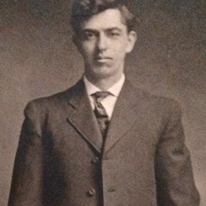 A portrait of Freeman Barber, circa 1912. He died in