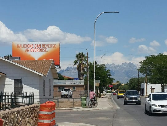Billboards have recently gone up around Las Cruces