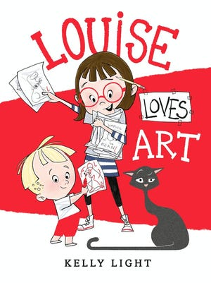 Kelly Light's new picture book, 'Louise Loves Art,' goes on sale in September.