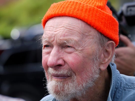 Pete Seeger, shown here in 2012, was founder and inspiration