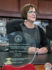 Kathy Beauregard, Director of Athletics at Western