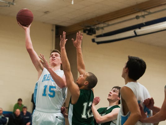 St. Johnsbury vs. South Burlington Boys Basketball 02/03/15